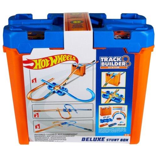 Трек Hot Wheels Track Builder Set House Stunt Deluxe GGP93