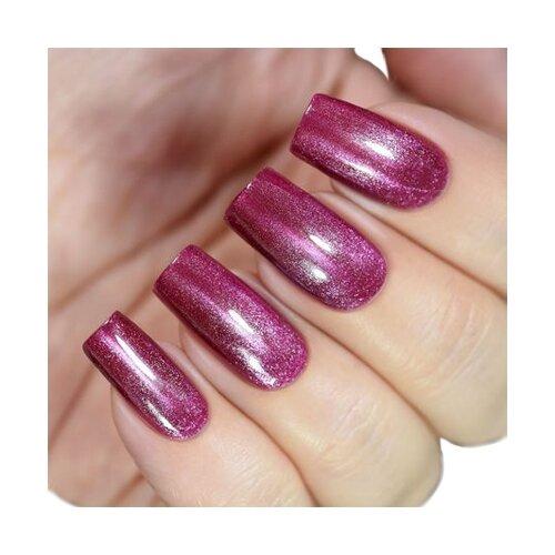 Купить Лак Masura Магнитный Жемчуг мини, 3.5 мл, пурпурный жемчуг