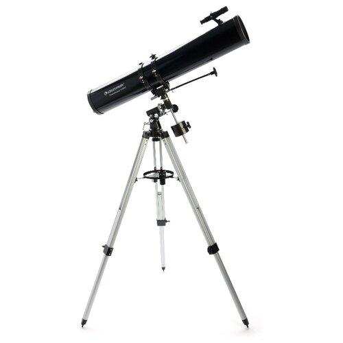 Фото - Телескоп Celestron PowerSeeker 114 EQ-MD черный/серый телескоп celestron powerseeker 80 eq салфетки из микрофибры в подарок