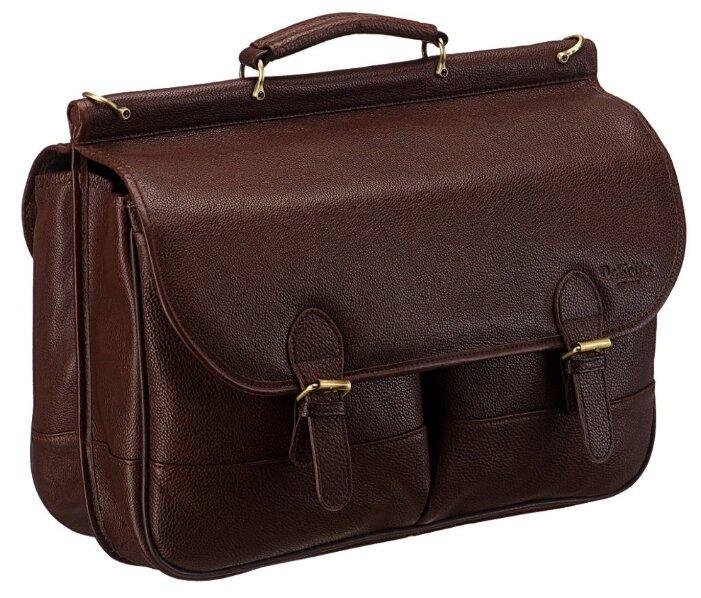 Портфель для мужчин Dr.Koffer B246360, натуральная кожа