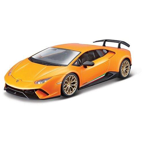 Купить Легковой автомобиль Bburago Lamborghini Huracan Performmante (18-21092) 1:24 оранжевый, Машинки и техника