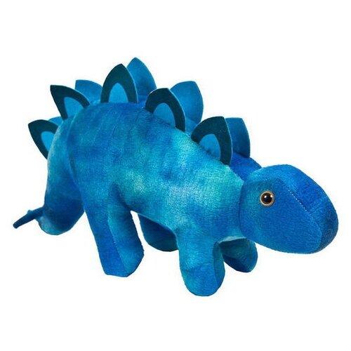 Купить Мягкая игрушка ABtoys Динозавры Стегозавр синий 14 см, Мягкие игрушки