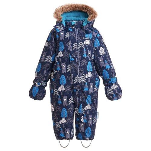 Купить Комбинезон Premont WP92059 размер 86, blue, Теплые комбинезоны