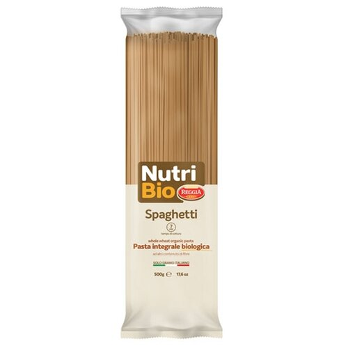 Pasta ReggiA Макароны Nutri Bio Spaghetti №19, 500 г