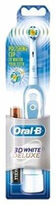 Электрическая зубная щетка Oral-B 3D White Deluxe