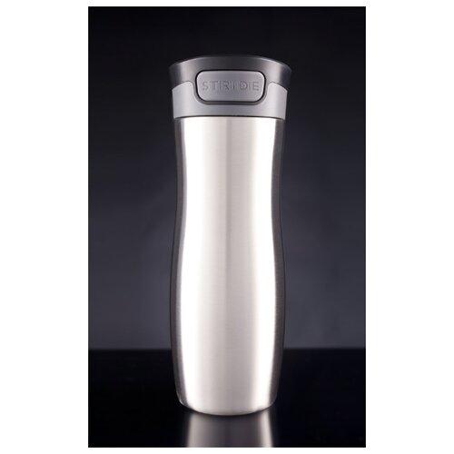 Термостакан Tansley, герметичный, вакуумный, серебристый, 450 мл.