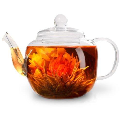 Fissman Заварочный чайник со стальным фильтром Lucky 9358 500 мл, прозрачный