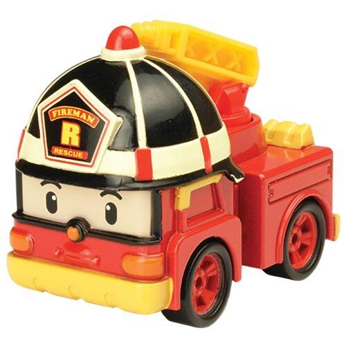 Купить Пожарный автомобиль Silverlit Робокар Поли Рой (83161) 6 см красный, Машинки и техника