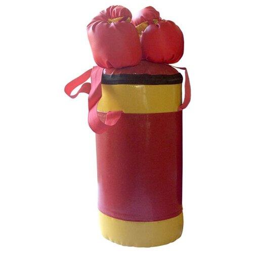 True для бокса КМС детский № 2 красный/желтый