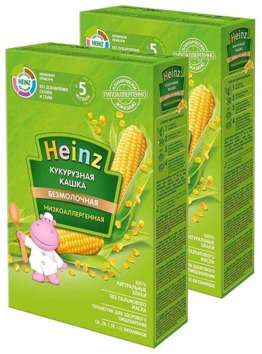 Каша Heinz безмолочная кукурузная (c 5 месяцев) 200 г, 2 шт.
