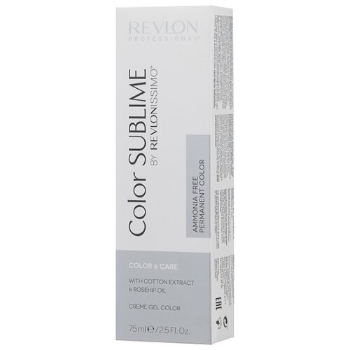Revlon Professional Revlonissimo Color Sublime стойкая краска для волос, 75 мл, 5 светло-коричневый краска для волос revlon professional revlon professional re044lwcnkr9