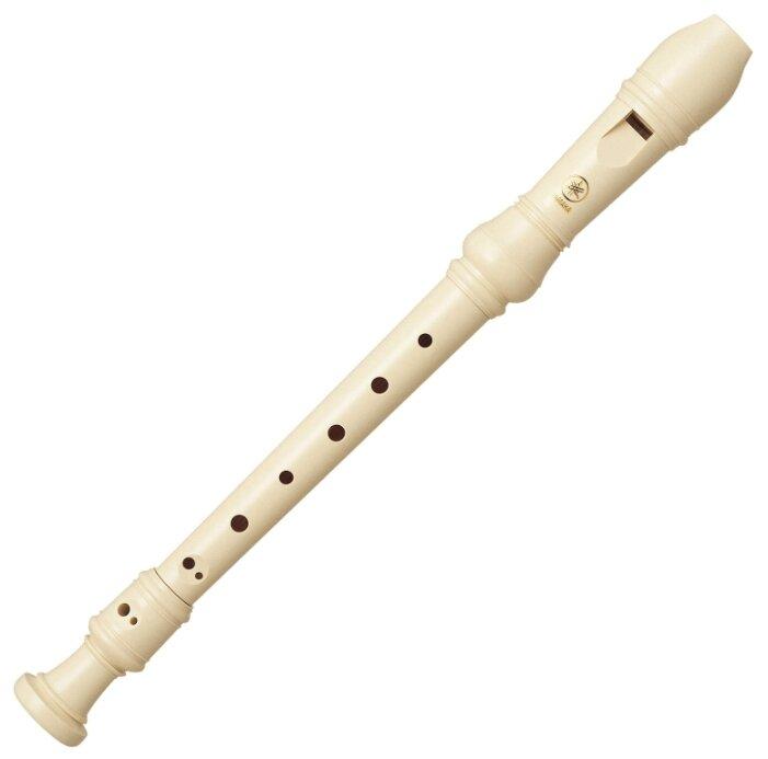 """Yamaha YRS-23 - блок-флейта сопрано """"C"""", немецкая система, цвет белый"""