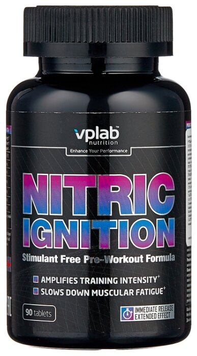 Предтренировочные комплекс VP LABORATORY VPLab Nitric Ignition, 90 таблеток