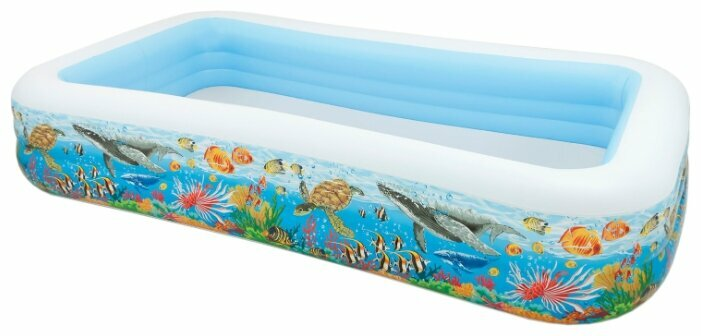 Детский бассейн Intex Swim Center 58485 Tropical Reef — купить по выгодной цене на Яндекс.Маркете