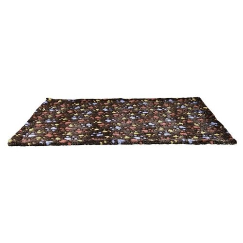 Подстилка-плед для собак TRIXIE Laslo Blanket 100х70 см темно-коричневый подстилка плед для собак и кошек trixie bendson vital 80х55 см бежевый