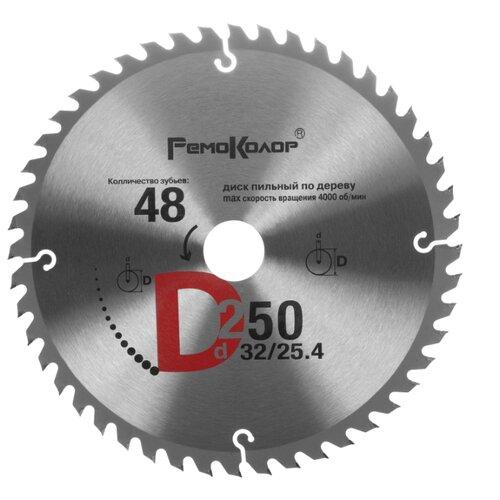 Пильный диск РемоКолор 74-1-252 250х32 мм