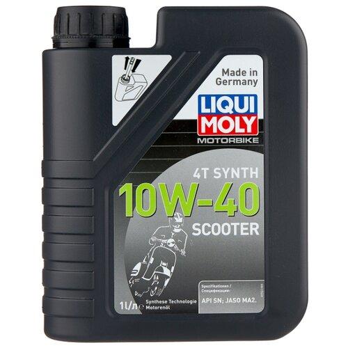Моторное масло LIQUI MOLY Scooter Motoroil Synth 4T 10W-40 1 л цена 2017
