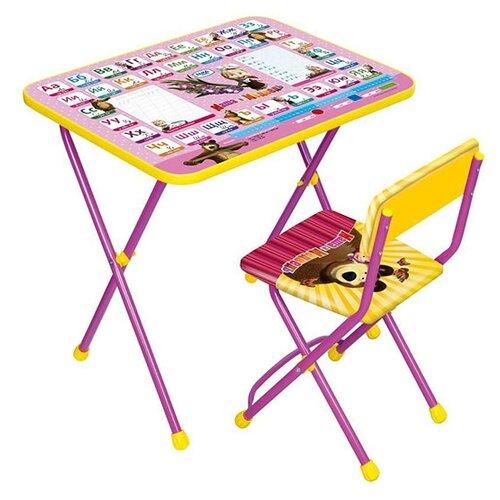 Комплект Nika стол + стул Маша