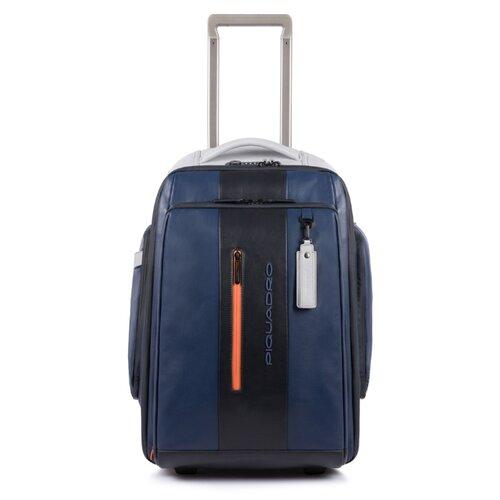 Сумка дорожная PIQUADRO Urban на колесах, синий/серый сумка piquadro tokyo ca4470s107 синий