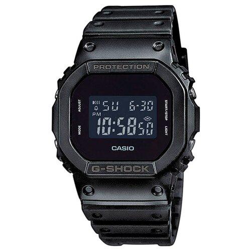 Фото - Японские наручные часы Casio G-SHOCK DW-5600BB-1E с хронографом casio часы casio dw 5600dc 1e коллекция g shock