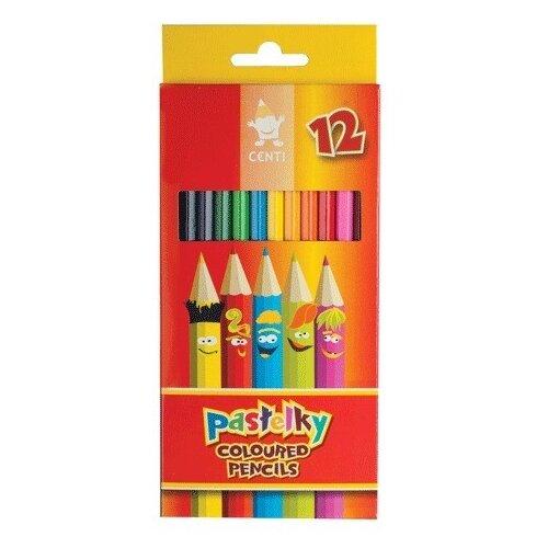 Купить KOH-I-NOOR Карандаши цветные Centi, 12 цветов (2142012002KS), Цветные карандаши