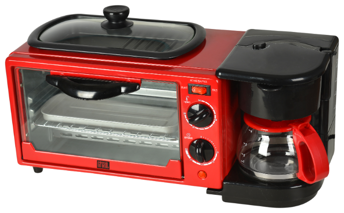 Мини-печь GFgril GFBB-7 — купить по выгодной цене на Яндекс.Маркете