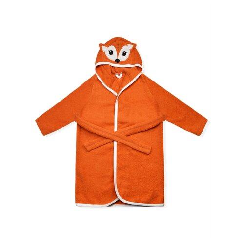 Халат LEO размер 80-86, оранжевый