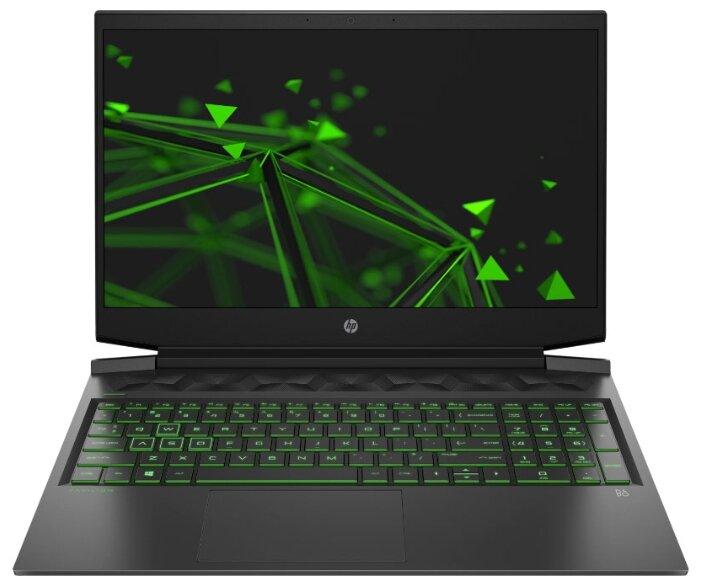 """Ноутбук HP Pavilion Gaming 16-a0024ur (Intel Core i7 10750H 2600MHz/16.1""""/1920x1080/16GB/256GB SSD/1000GB HDD/DVD нет/NVIDIA GeForce GTX 1660 Ti MAX-Q 6GB/Wi-Fi/Bluetooth/DOS) — купить по выгодной цене на Яндекс.Маркете"""