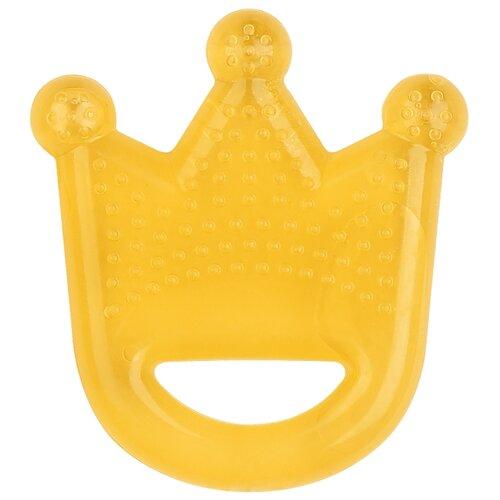 Купить Прорезыватель Lubby Корона желтый, Погремушки и прорезыватели