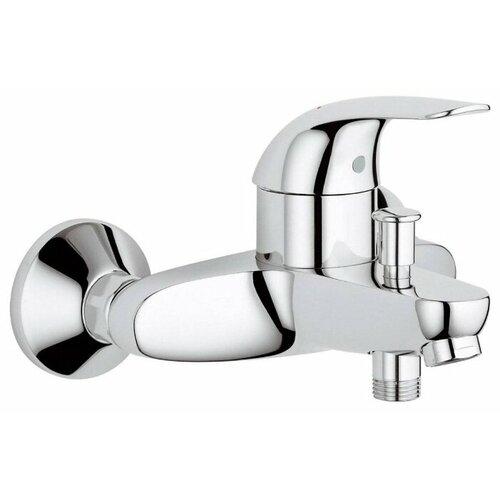 Смеситель для ванны с подключением душа Grohe Euroeco 32743000 однорычажный смеситель для ванны с подключением душа grohe bauclassic 32865000 однорычажный