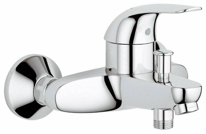 Смеситель для ванны с душем Grohe Euroeco 32743000 однорычажный хром
