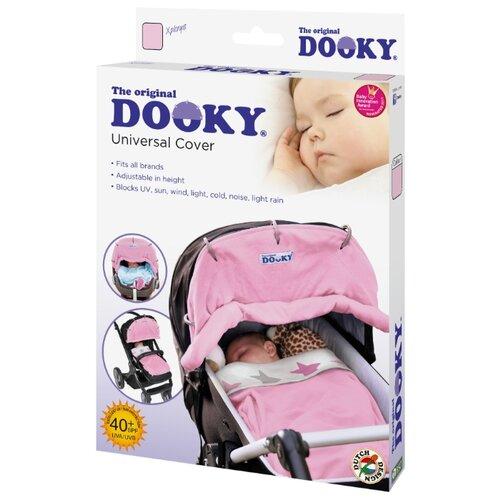 Купить DOOKY- XPLORYS накидка на коляску и автокресло baby pink, Аксессуары для колясок и автокресел