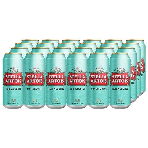 Пиво безалкогольное светлое Stella Аrtois, 0,45 л (24 шт)