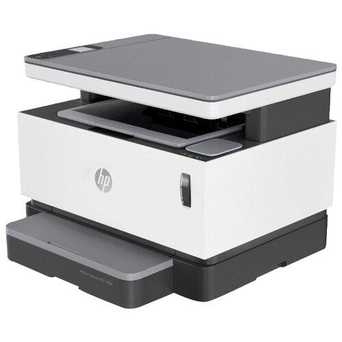 Фото - МФУ HP Neverstop Laser 1200w белый/черный блок фотобарабана hp 104 w1104a черный ч б 20000стр для hp neverstop laser 1000a 1000w 1200a 1200w