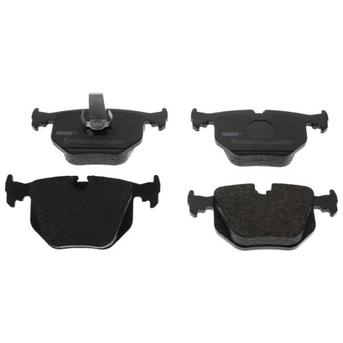 Фото - Дисковые тормозные колодки задние Ferodo FDB1483 для Land Rover, Alpina, BMW (4 шт.) дисковые тормозные колодки задние nibk pn1243 для toyota land cruiser prado 4 шт