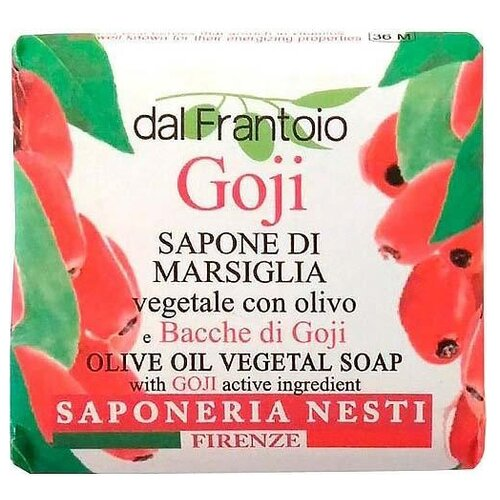 Мыло кусковое Nesti Dante dal Frantoio Goji, 100 г