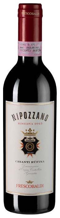 Вино Frescobaldi Nipozzano Chianti Rufina Riserva, 2015, 0.375 л