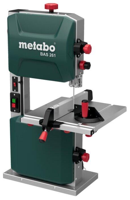Ленточнопильный станок вертикальный Metabo BAS 261 Precision 619008000 400 Вт