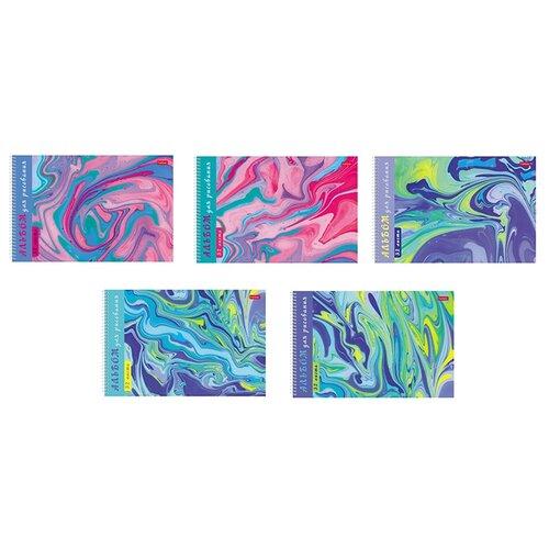 Купить Альбом для рисования Hatber Воздушные облака 29.7 х 21 см (A4), 100 г/м², 32 л., Альбомы для рисования