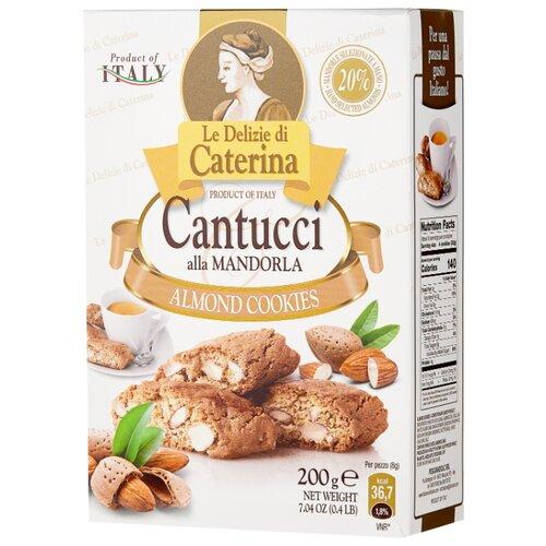 Фото - Печенье Le Delizie di Caterina Кантуччи с миндалем 200 г традиционное итальянское печенье falcone кантуччи с фисташками и лимонной цедрой 180 г
