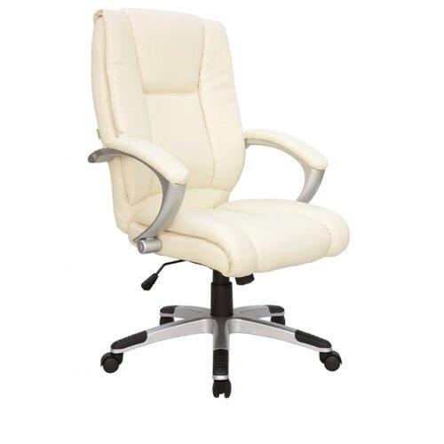 Компьютерное кресло Рива RCH 9036 для руководителя, обивка: искусственная кожа, цвет: бежевый компьютерное кресло tetchair барон обивка искусственная кожа цвет бежевый