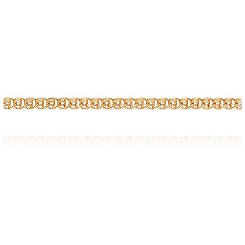 АДАМАС Цепь из золота плетения LOVE ЦЛ130А2-А51, 50 см, 2.59 г