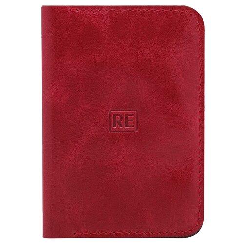 Обложка для паспорта Reconds Mag, красный глянцевый кошелек reconds reconds mp002xu02f9z
