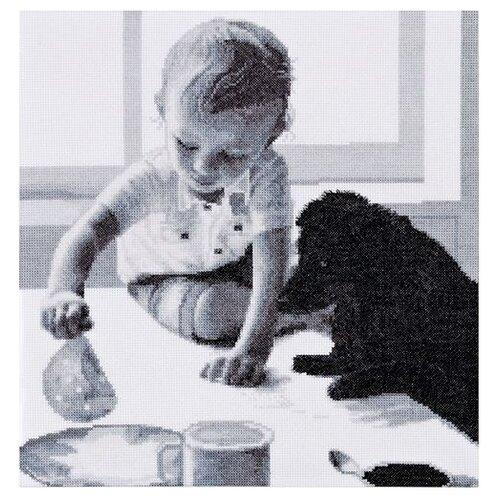 Купить Hobby & Pro Набор для вышивания Завтрак 34 х 35 см (746), Наборы для вышивания