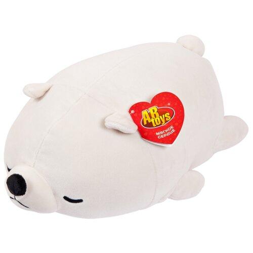 Купить Мягкая игрушка ABtoys Медвежонок полярный 17 см, Мягкие игрушки