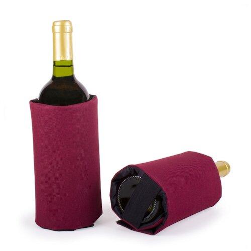 Фото - Охладительная рубашка для вина Koala бордовая охладительная рубашка бокала для виски ac whiskey 36405606 vacuvin