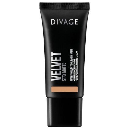 DIVAGE Тональный крем Velvet, 30 мл, оттенок: 06 divage velvet тональный крем тон 06 30 мл