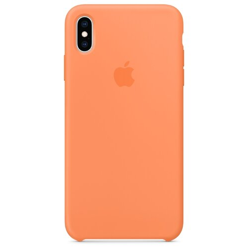 Чехол Apple силиконовый для Apple iPhone XS Max свежая папайя силиконовый чехол apple silicone case для iphone xs max цвет papaya свежая папайя mvf72zm a