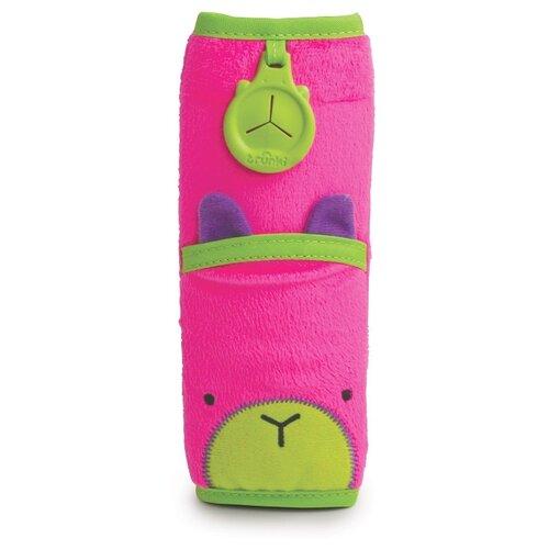 Купить Trunki Накладка-чехол Котенок для ремня безопасности розовый, Аксессуары для колясок и автокресел