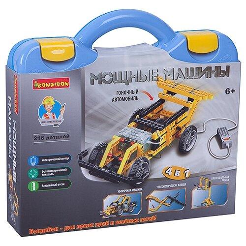 Купить Электромеханический конструктор BONDIBON ВВ3498 Мощные машины 4 в 1, Конструкторы